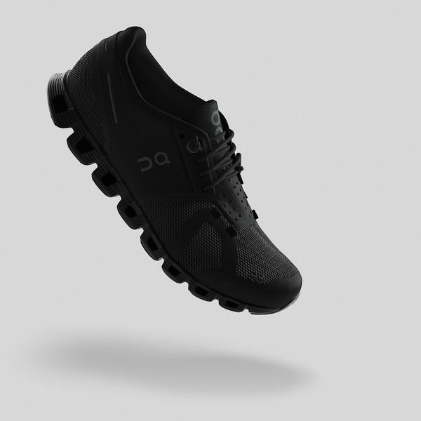 On Run Cloud All Black